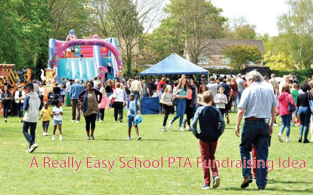 A Really Easy School PTA Fundraising Idea